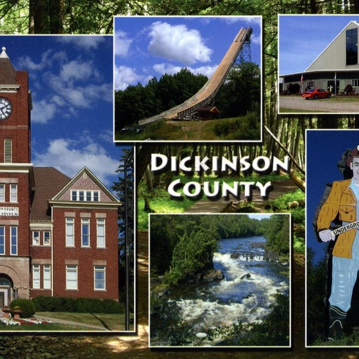 США. Мичиган. Dickinson County (с167)
